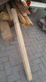 timber posts 3ft