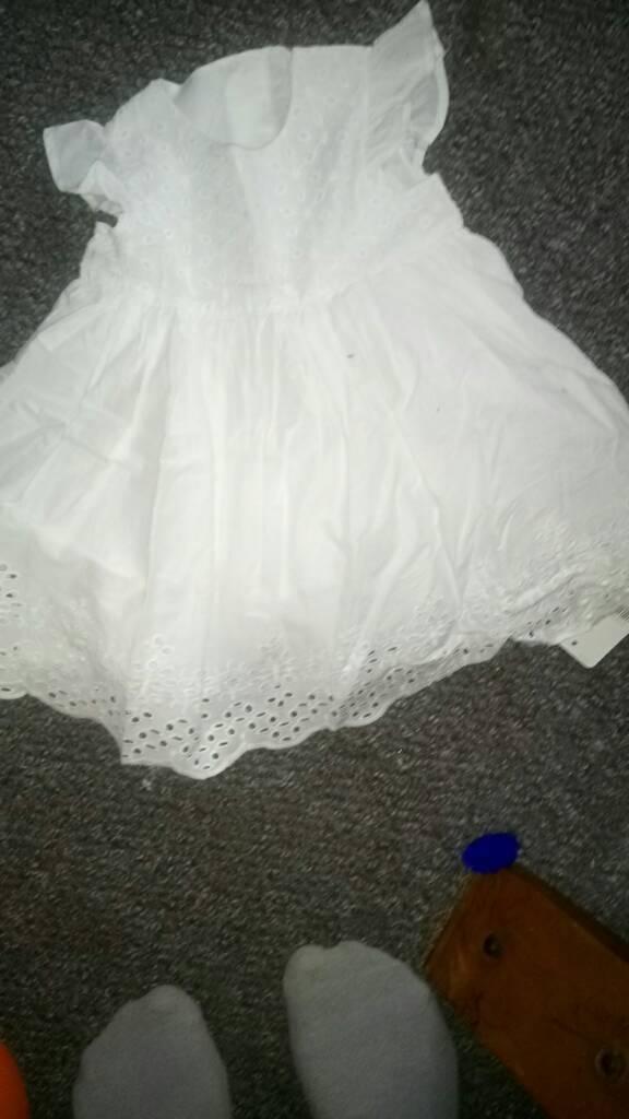 White cotton dree