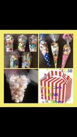 Party cones n bits