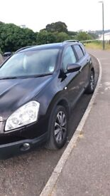 Nissan Qashqai 2 litre diesel with sunroof and bose sound system