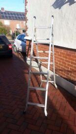 ABRU 3 Way Combination Ladder