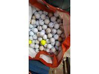 350+used golf balls