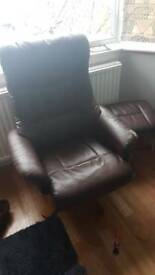 Free chair and foot rest