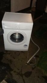 Beko washing machine white