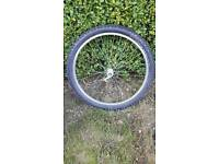 26 inch front wheel