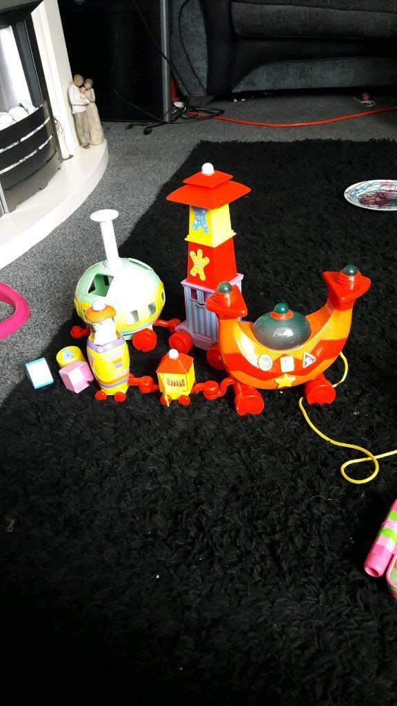 In the night garden train girls/boys toy45p00p
