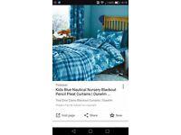 Dunelm dinosaur bedding and matching curtains