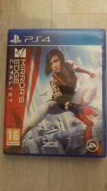 Ps4 game Mirrors Edge