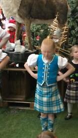 Kids full dancing outfit