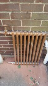 Old school type radiators
