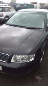 Audi A4 B6 2.0 FSI saloon AWA BREAKING FOR PARTS SPARES Black LZ9W