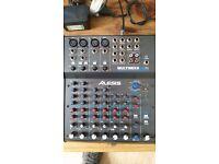 Alesis MultiMix 8 USB FX 8 Channel Mixer with FX, 16-bit Recording