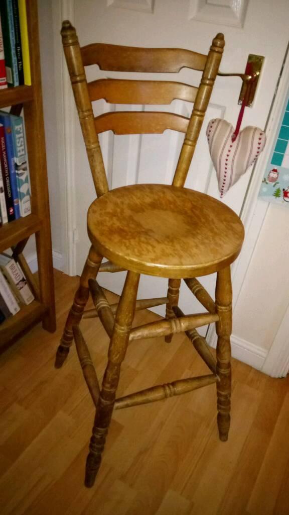 Large bar stool