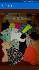 Large bundle of size 8 tops