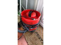 Nuvac vacuum cleaner (comes with bags)