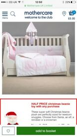 Mammas & Pappas Vintage Pink Bumpber set