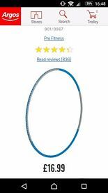 Pro fitness exercise hula hoop