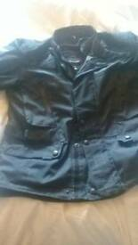 Armoured motorcycle jacket and trouser bundle worn twice