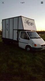 Ford transit 3.5 tonne horsebox