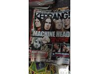Kerrang magazine collection