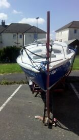 Project Yacht Boat For Sale £250 No Tyre Kickers