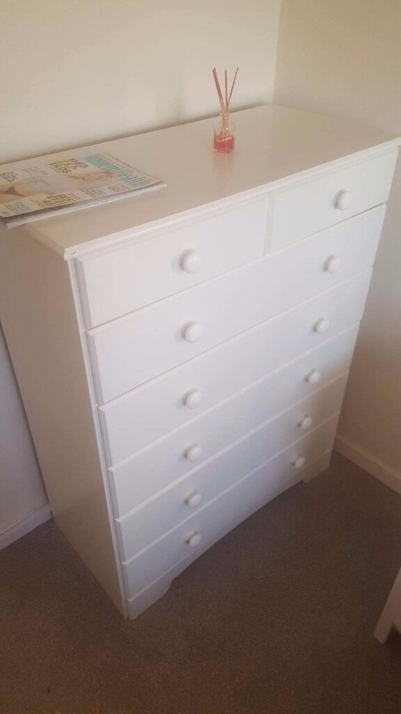 White bedroom furniture collection onlyin Callington, CornwallGumtree - White set of bedroom furniture, £120 ono, they are in very good condition, drop me a message If you need more details ;)