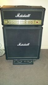 Marshall Guitar AVT-150 Valvestate 2000 Amp Head and Half Stack + Foot Controller + Amp Head Cover