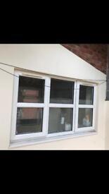 House internal window, man cave garage conversion ideal