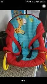 Baby bounce and carry chair