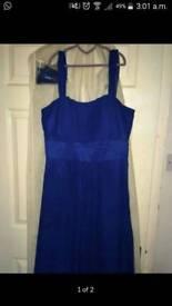 Floor length dress size 10-14