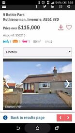 One bed, semi detached bungalow, off street parking, easy to maintain. £115000