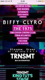 Trnsmt Festival Ticket Sunday