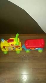 Kids Train toys alphabet train set