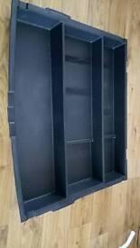 Kia sportage boot tray tidy, black.