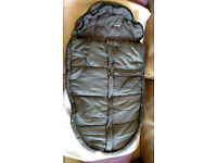 Snug and warm sleeping bag for mountain buggy stroller (single or duet). £15 a piece. Two available
