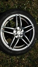 17 inch wheels and tyres