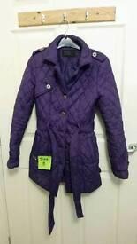 Hendley size 8 coat
