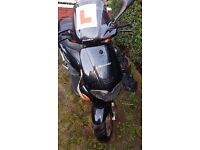 gilera 50 sp 2stroke does run hasn't been started over winter no tax only £17 to do so no keys clean
