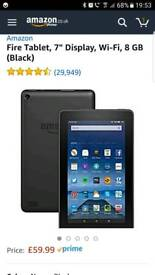 Amazon fire for kids with pink case
