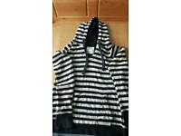 Womens fatface hoodie size 12