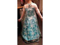 Frozen dress worn once 7-8