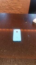 iPhone 5c Blue, good condition