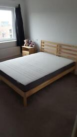 IKEA bed frame and mattress EXCELLENT condition