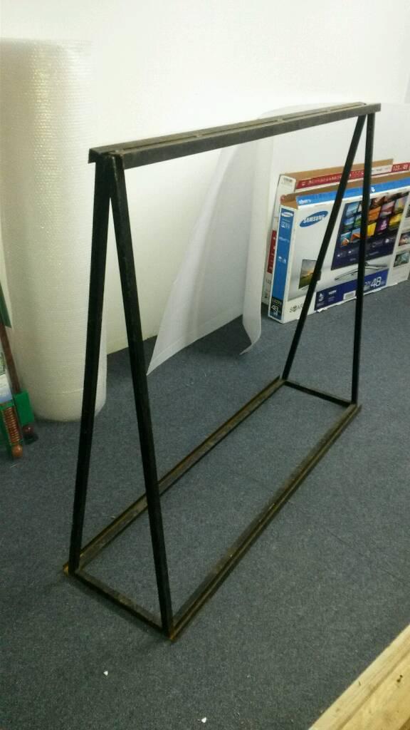 2x laminate display / sign boards