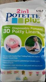 Potty liners