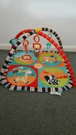 Playmat & bouncer chair