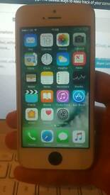 iPhone 5s white unlocked, without iCloud, working, cheap