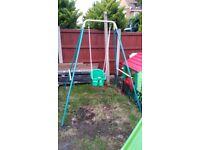 Baby Kids Garden Swing Set Outdoor Activity