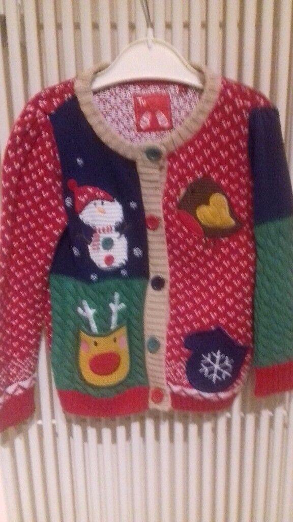 Christmas Cardigan 12-18 Months