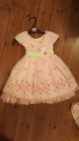Bundle of 3 girls party, formal and casual dresses age 3-4 years. Next, Pumpkin Patch.